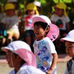 3歳長女 年長さんの運動会