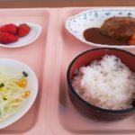 入院中の楽しみは……食事!